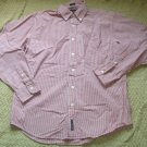 American Eagle Size Medium Red Chambray Button Down