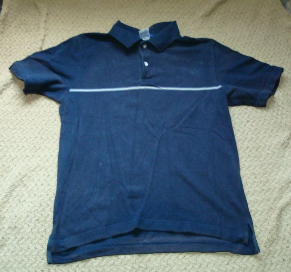 Guys Dark Blue Old Navy Polo Shirt Size Small