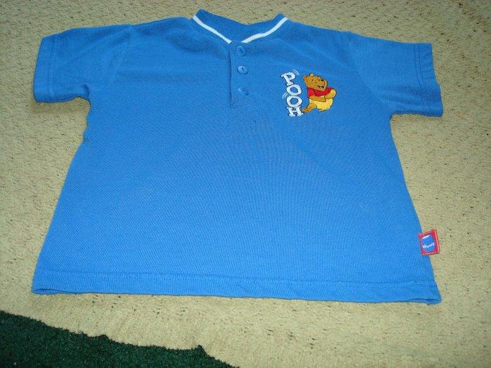 Boys Blue Winnie The Pooh Shirt 3T