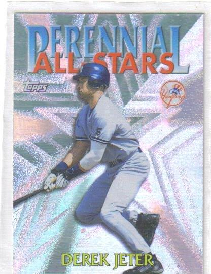 Derek Jeter 2000 Topps Perennial All Stars Yankees