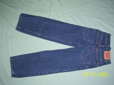 LEVIS 550'S RELAXED FIT BOYS SIZE 10 JEANS