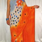 New Designer Imported Multicolor Chiffon Saree