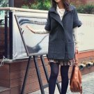Korean Fashion Wholesale [B2-6220] Coat - Gray - Size M