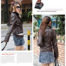 Korean Fashion Wholesale [B2-1591] Jacket - Coffee