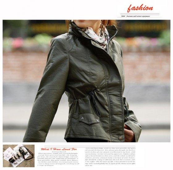 Korean Fashion Wholesale [B2-1591] Jacket - Green