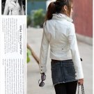 Korean Fashion Wholesale [B2-1591] Jacket - White
