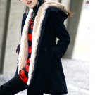 Korean Fashion Wholesale [E2-1001] Coat - Black