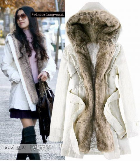 Korean Fashion Wholesale [E2-1001] Coat - White