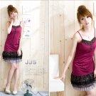 Korean Fashion Wholesale [B2-1390] Cute Little Dress - Pink