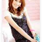 Korean Fashion Wholesale [B2-1296] Innocent Chiffon Dress - Black Multi