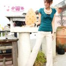 Korean Fashion Wholesale [B2-6227] Stylish Pants - White- Size L