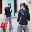 Korean Fashion Wholesale [C2-6099] Baggy Denim Jeans - Gray wash
