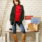 Korean Fashion Wholesale [C2-102] Warm&Pretty Turle-neck Sweater - red