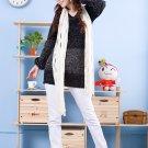 Korean Fashion Wholesale [D2-X820] Pretty Bow on back Long Sleeve Sweater- Black