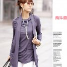 Korean Fashion Wholesale [B2-1610] Proffesional Unique Top - Purple