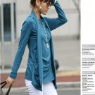 Korean Fashion Wholesale [B2-1610] Proffesional Unique Top - blue