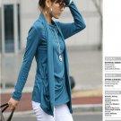 Korean Fashion Wholesale [B2-1610] Proffesional Unique Top - blue