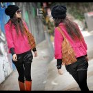 Korean Fashion Wholesale [C2-7001] High-class & Pretty Swing Jacket - Pink - Size L