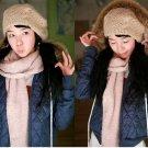 Korean Fashion Wholesale [B2-6154] Luxurious&Pretty Faux Fur Hooded Jacket -Navy- Size L