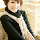 Korean Fashion Wholesale [C2-2076] Warm & Sweet Turtle-neck Sweater Top - Black