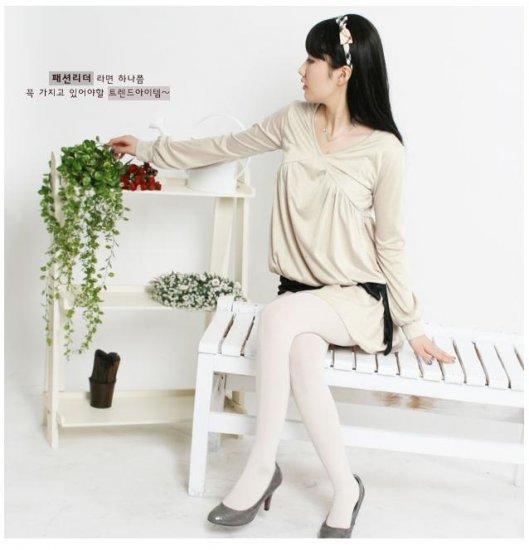 Korean Fashion Wholesale [C2-2228] Lovely & Elegant & Flowy Satin Belted Dress