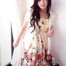 Korean Fashion Wholesale [B2-154] Cute & Elegant Chiffon 2-way wear Skirt/Dress