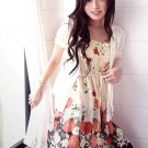 Korean Fashion Wholesale [B2-154] Cute & Elegant Chiffon 2-way wear Skirt/Dress
