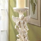 ANGEL & KIDS CANDLEHOLDER