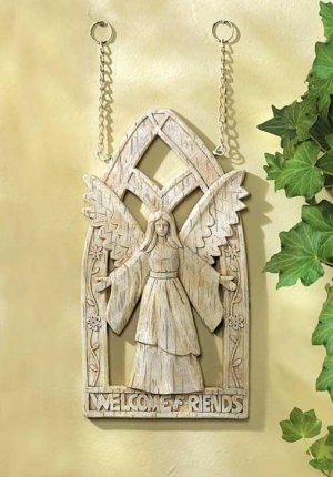 ANGELIC WELCOME PLAQUE
