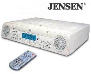 UNDER CABINET AM/FM STEREO CD PLAYER