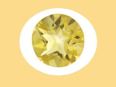 Citrine Round Cut 10mm Loose Gemstone