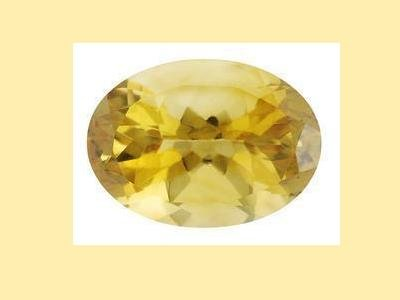 Citrine 14x10mm Oval Cut 6.02 carat Loose Gemstone