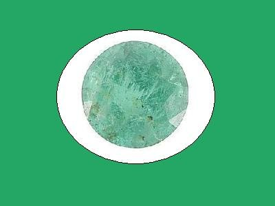 Emerald Round Cut 10mm 4ct Loose Gemstone