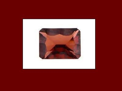 Garnet 8x6mm Ocatagon, Emerald or Oblong Cut Loose Gemstone