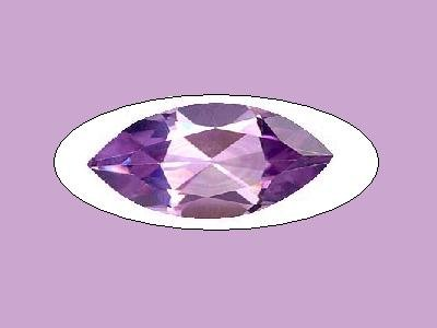 Amethyst 3ct 15x7mm Marquise Cut Loose Gemstone