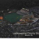 Lackawanna County Stadium Postcard Moosic PA