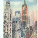 73605 NY New York City Postcard World's Highest Towers