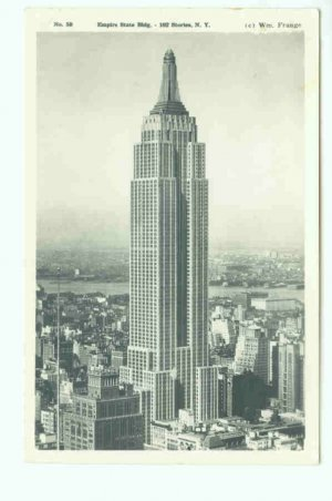 73608 NY New York City Empire State Building Postcard