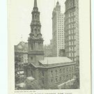 73619 NY New York City St. Pauls Church Postcard