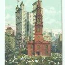 73620 NY New York City St Pauls Chapel Postcard