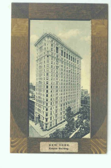 73625 NY New York City Vintage Postcard Empire Building