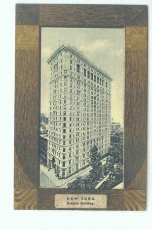 73625 NY New York City Vintage Postcard Empire Building