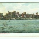 73641 NY New York City Vintage Postcard East River Front 1906 era