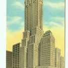 73642 NY New York City Vintage Postcard Lincoln Building