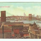 73643 NY New York City Vintage Postcard from Brooklyn Bridge
