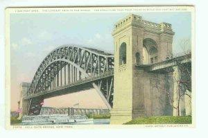 73648 NY New York City Vintage Postcard Hell Gate Bridge
