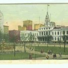 73650 NY New York City Vintage Postcard City Hall 1906 view