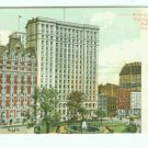 73651 NY New York City Vintage Postcard Washington and Bowling Green Building 1906 era