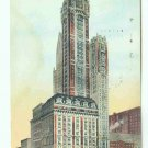 73683 NY New York City Vintage Postcard Singer Building 1909