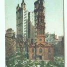 73688 NY New York City Vintage Postcard St. Paul's Chapel